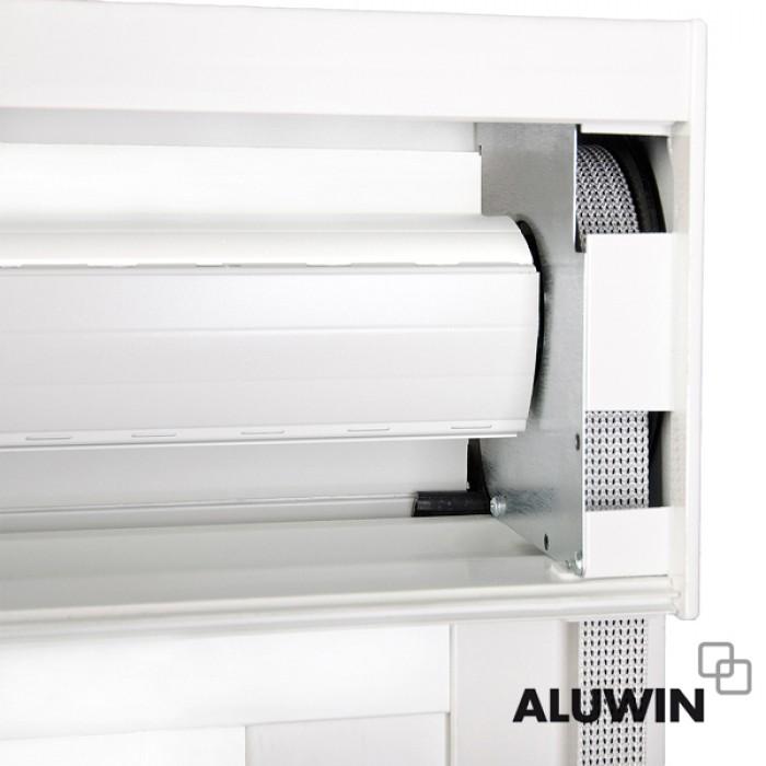Ventana corredera con persiana ventanas y puertas de for Ventanas de aluminio con persiana baratas