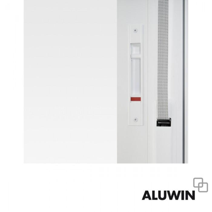 Puerta corredera con persiana doble acristalamiento for Precio ventanas aluminio climalit persiana