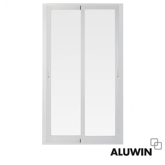 Puerta corredera sin persiana ventanas y puertas de aluminio - Puertas de persiana ...