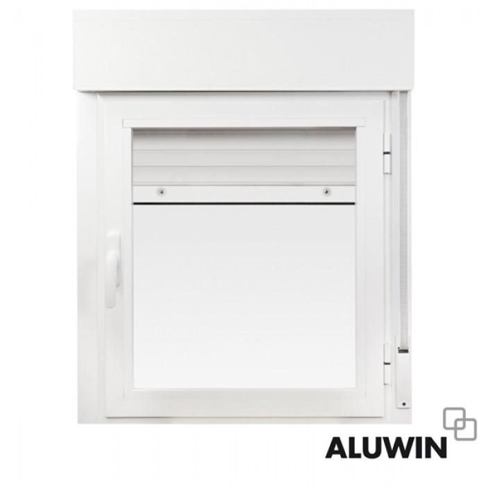 Ventana abatible una hoja con persiana ventanas tipo for Precio ventanas aluminio climalit persiana
