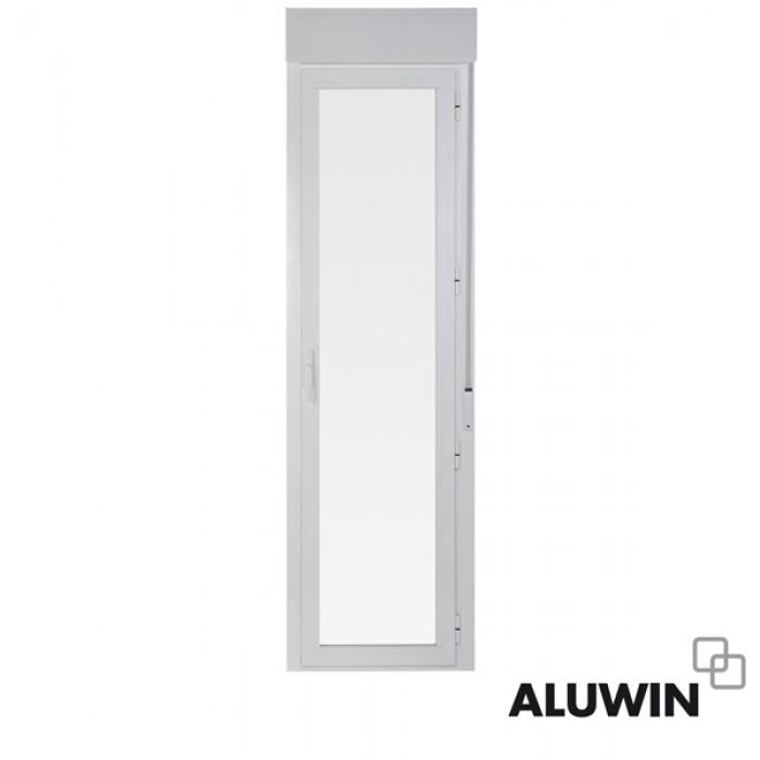 Puerta abatible una hoja con persiana ventanas tipo for Ventanales tipo puerta