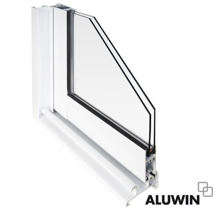 Puerta corredera sin persiana ventanas y puertas de aluminio - Puerta corredera doble ...
