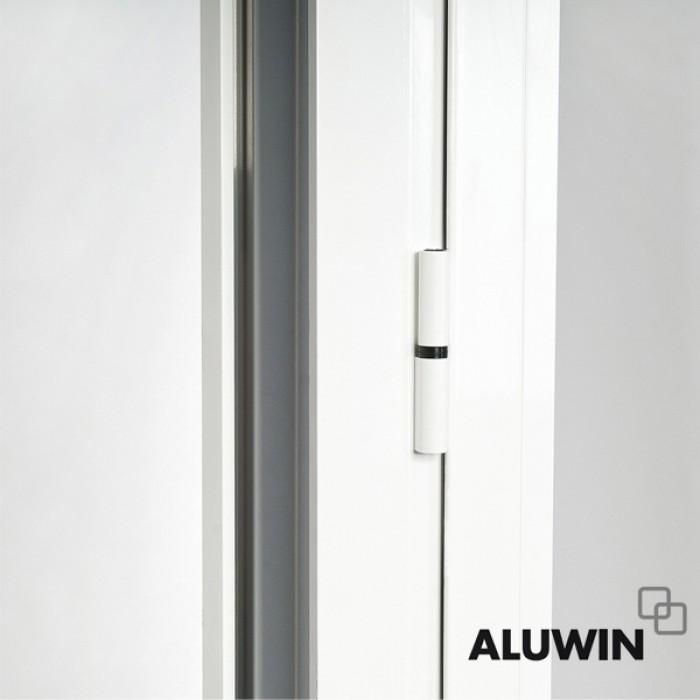 Puerta abatible una hoja sin persiana ventanas tipo for Ventanales tipo puerta