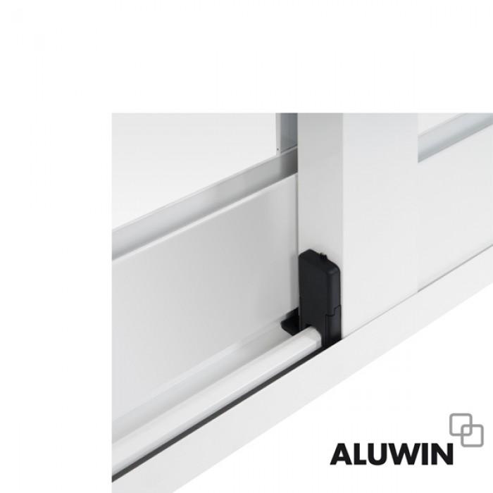 Puerta corredera sin persiana ventanas correderas - Puerta corredera de aluminio ...