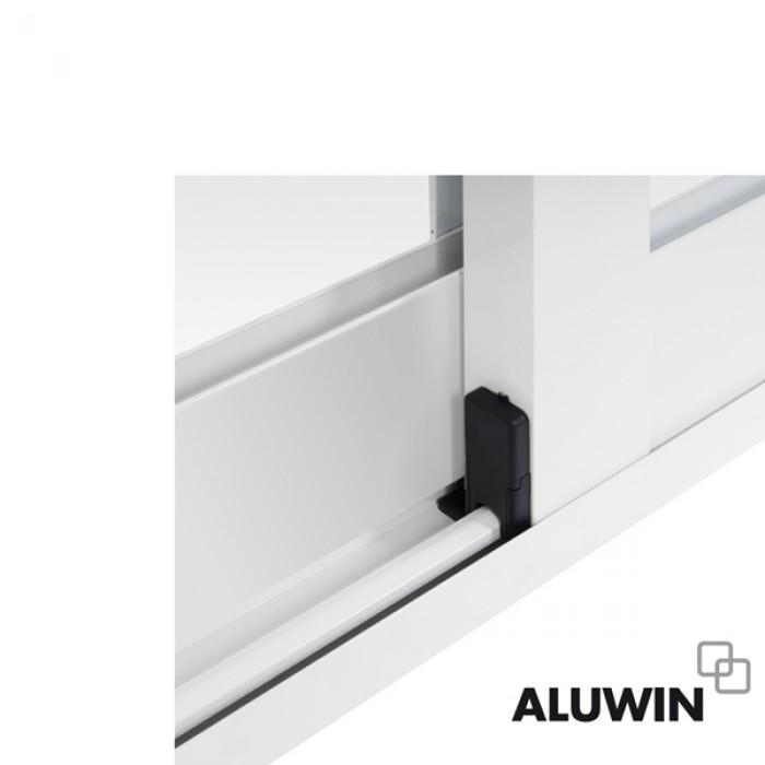 Ventana corredera sin persiana ventanas y puertas de - Puertas de aluminio correderas ...