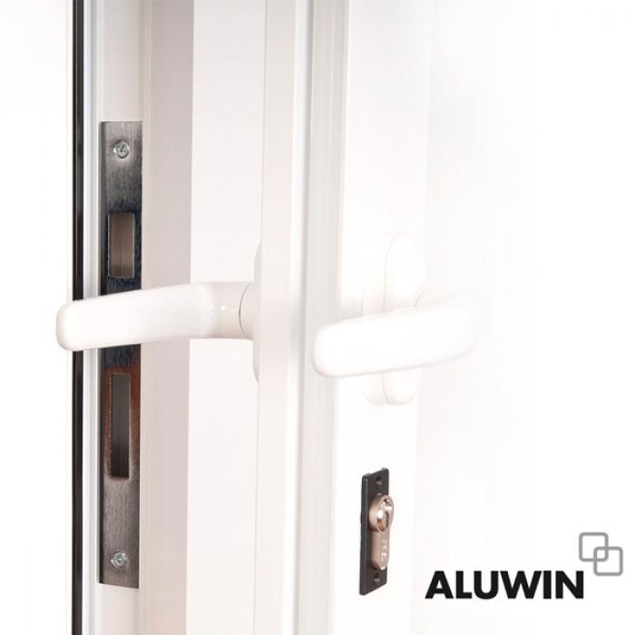 Puerta abatible una hoja con multiusos o de cocina sin for Puertas oscilobatientes